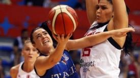 Le speranze dell'Italbasket femminile