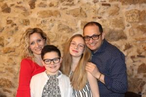 Giovanna e la sua famiglia
