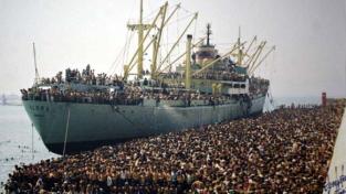 28 anni fa lo sbarco degli albanesi a Bari