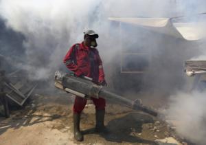 Disinfestazione contro la dengue
