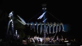 Moby Dick kolossal e itinerante