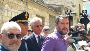 I giorni siciliani di Salvini
