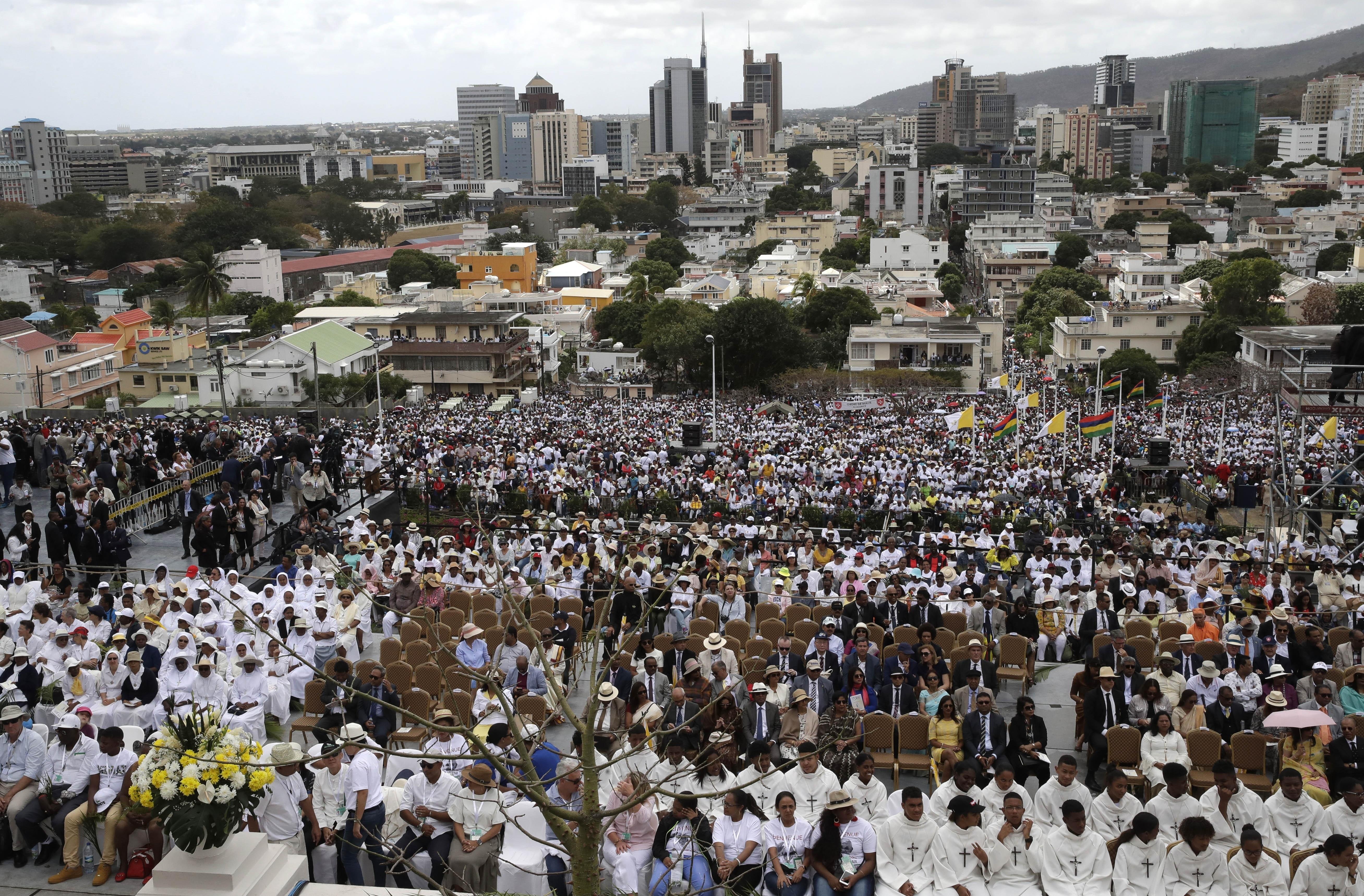 Mauritius Africa Pope