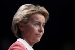 Ursula von der Leyen, presidente della Commissione europea.