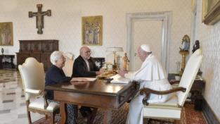 Il papa ai Focolari, «Andate avanti!»