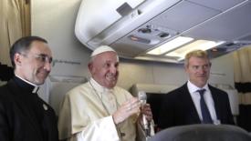 L'interesse di Bergoglio per il piccolo