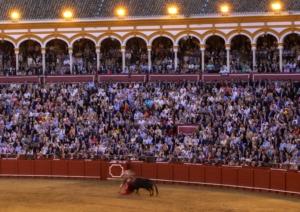Feria de Abril bullfight in Seville