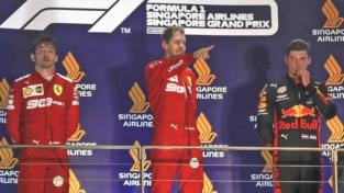 Doppietta Ferrari, Singapore si tinge di rosso