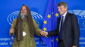Fratel Biagio a Strasburgo