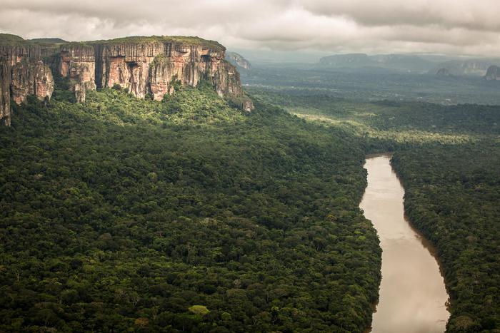 Amazzonia, parco Serrania de Chiribiquete in Colombia