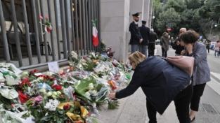 Lutto a Trieste per i poliziotti uccisi