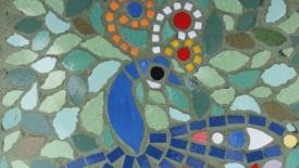 I mosaici di Irina sulle buche di Messina