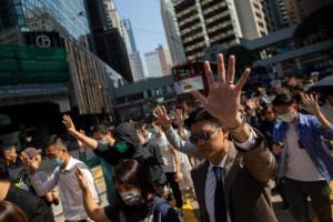 Hong Kong, Cina, 8 novembre 2019.