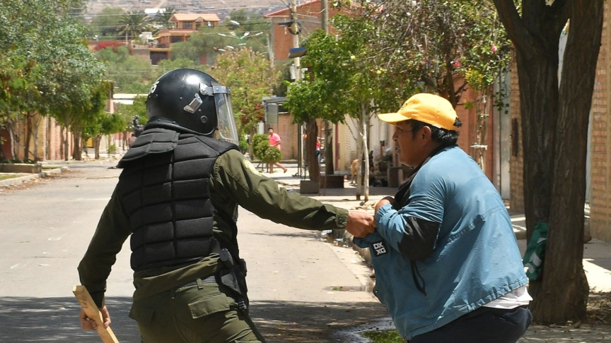 La Bolivia si ribella a Morales