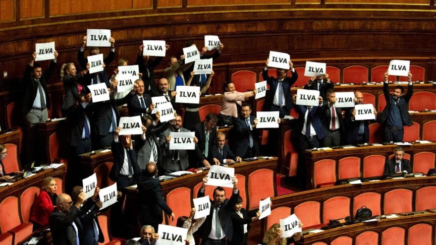 L'Ilva nel caos italiano