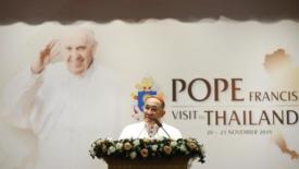 Papa in Thailandia per la civiltà dell'Amore