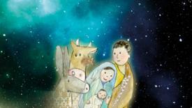 Maria racconta a Gesù bambino