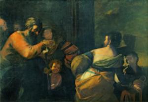 Mattia Preti, Ripudio di Agar, 1635-1640 ca
