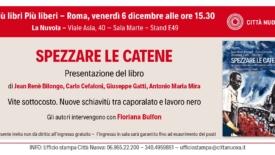 """Caporalato e supermercati, presentazione a Roma del libro """"Spezzare le catene"""""""