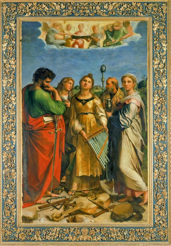 Raffaello. L'Estasi di Santa Cecilia. Bologna
