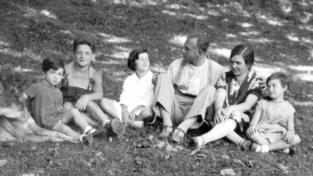 La famiglia Lubich, quando Chiara era Silvietta