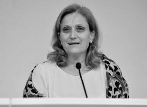 Noemi Di Segni,  presidente dell'Unione delle Comunità Ebraiche Italiane.