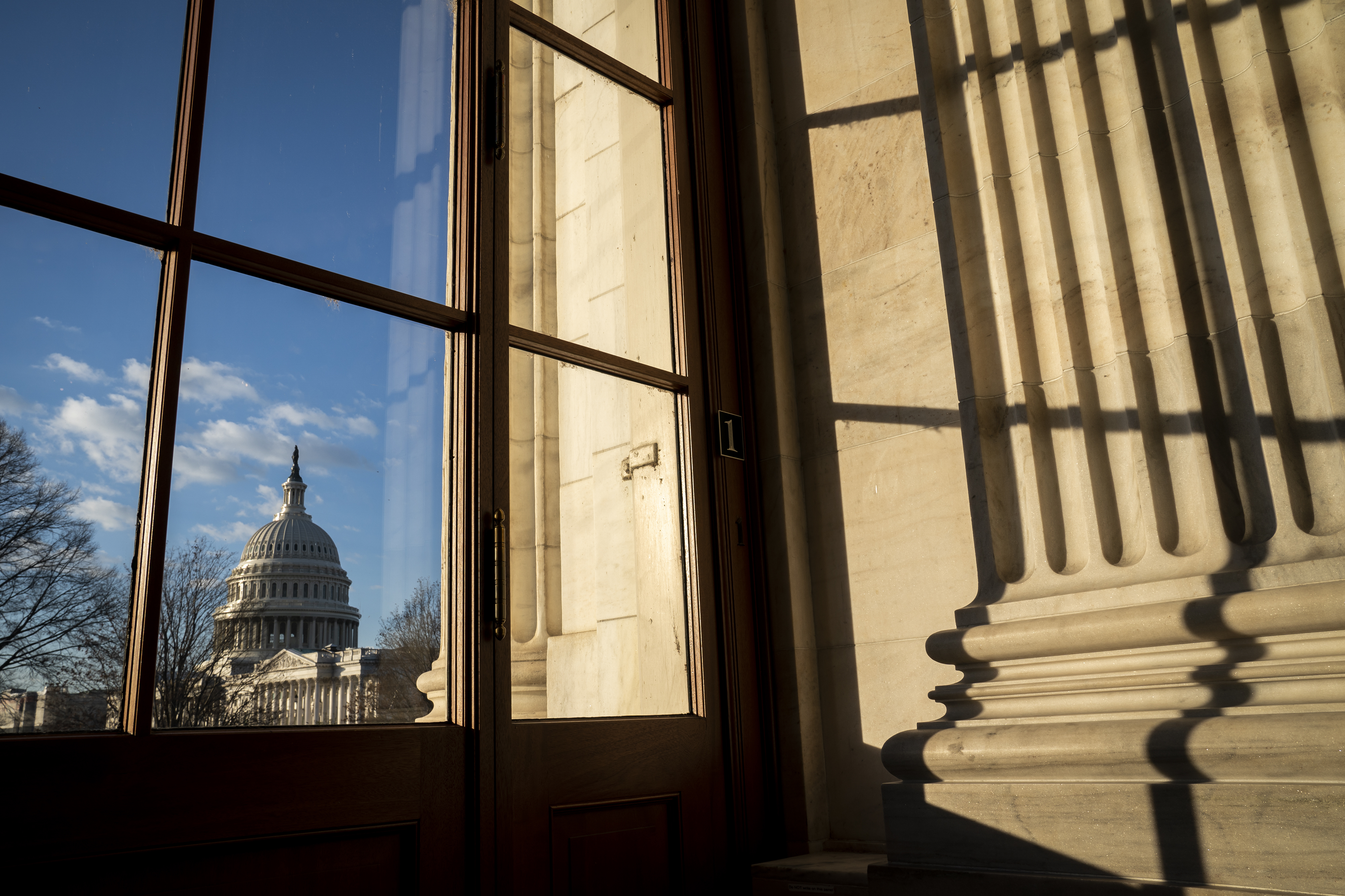 The Capitol is seen in Washington, early Monday, Jan. 6, 2020, as Congress returns to Washington to face the challenge of fallout from President Donald Trump's military strike in Iraq that killed Iranian official, Gen. Qassem Soleimani. (AP Photo/J. Scott Applewhite)