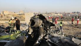 Teheran, il mistero dell'aereo caduto