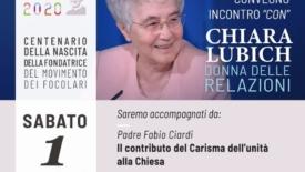 Chiara Lubich donna delle relazioni