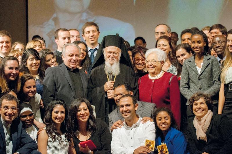 2015: dottorato Honoris causa al patriarca Bartolomeo I