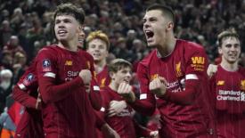 """Il Liverpool vince anche con """"i ragazzini"""""""