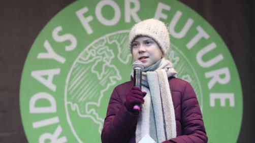 Greta Thunberg (Christian Charisius/dpa via AP)
