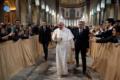 Papa Francesco celebra l'inizio della Quaresima