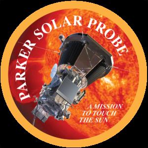 Il logo della missione Parker Solar Probe