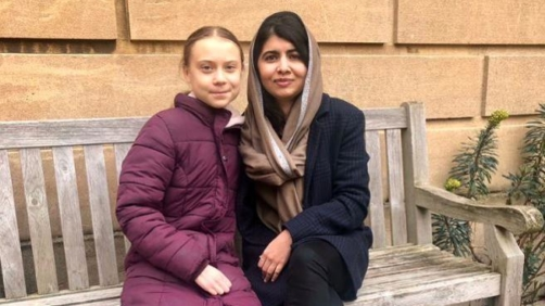 Greta Thunberg e Malala Yousafzai