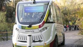 Merano, arriva il bus elettrico senza autista
