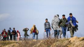 I migranti alle porte dell'Europa
