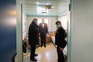 Foto Ufficio Stampa Regione Liguria/Marco Gozzi/LaPresse. Giovanni Toti, presidente della Regione Liguria.