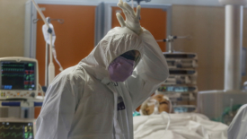 Coronavirus, un'infermiera in prima linea
