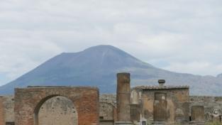 Col Vesuvio sotto i piedi