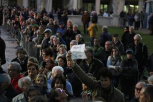 LaPresse - P.G La folla nell'ultimo saluto alla Anselmi nel 2016