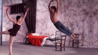 """Nureyev in """"Le jeune homme et la Mort"""""""