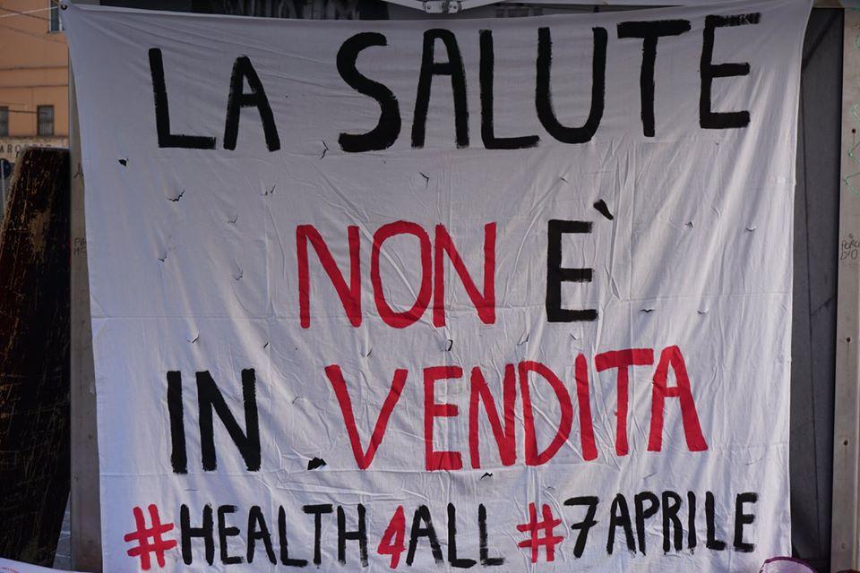 Foto campagna salute pubblica