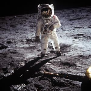 Buzz Aldrin sulla Luna con l'Apollo11 - 20 luglio 1969