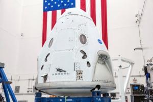 La capsula Dragon di Elon Musk