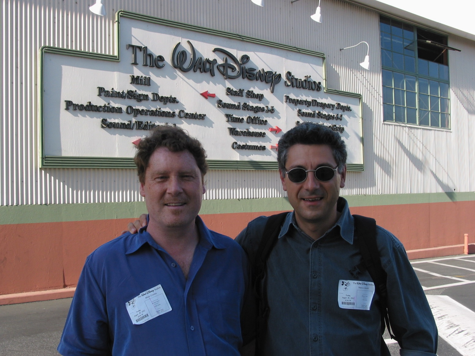 Mark Ruse a Hollywood con Marco Aleotti
