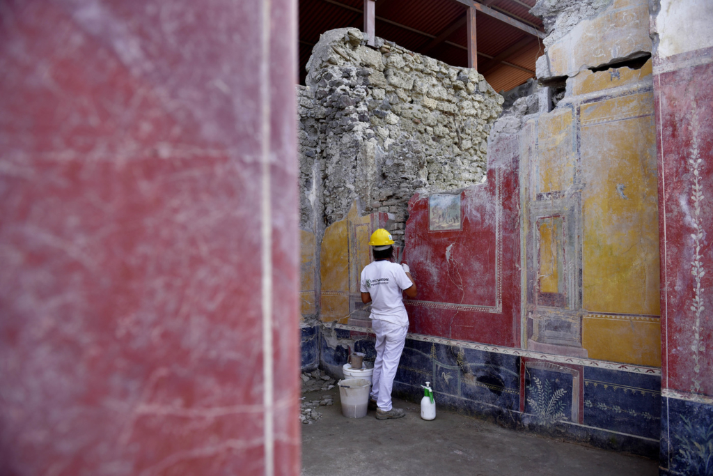 Bonisoli a Pompei: una nuova incisione cambia la data dell'eruzione del Vesuvio