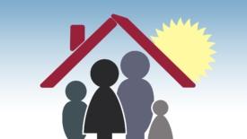 Famiglia in casa al tempo del Covid 19