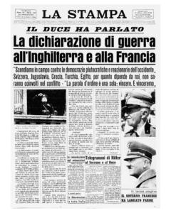 Archivio La Stampa 11 06 1940