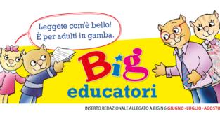 Inserto educatori di Big, uno strumento per sostenere i bambini